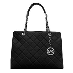 MICHAEL KORS Susannah Large Tote Leather Handbag